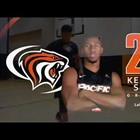 Kendall Small is Starting Point Guard for Pacific Tigers Basketball Team