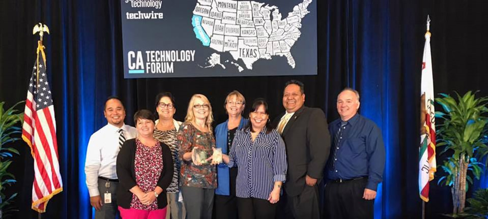 "Center for Digital Government ""Best of California Award"""
