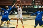 Women's Hoops Edged in Santa Clara