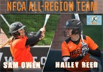 Reed and Owen Make NFCA All-Region Team