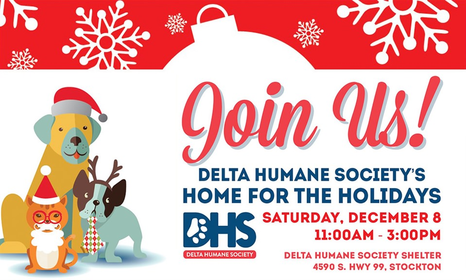 Delta Humane Society's Home for the Holidays Open House