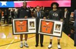 Gallinat and Townes Lead Tigers on Senior Night