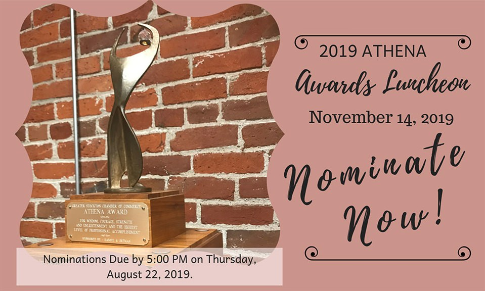 Nominations Sought for 2019 ATHENA Awards