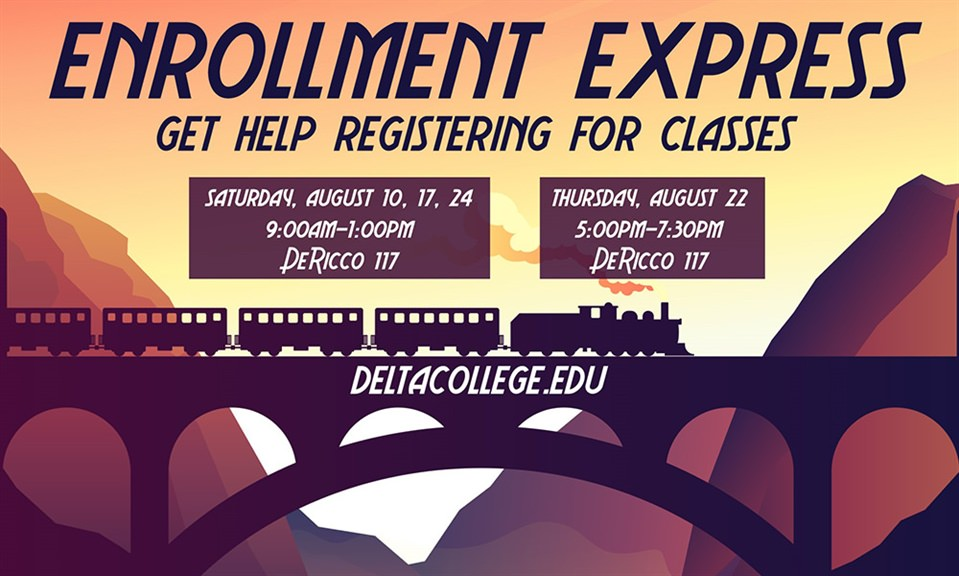 Delta College launches events to help students register