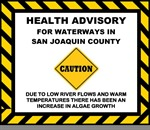 Blue-Green Algae Blooms Spotted in San Joaquin County Waterways