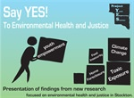Presentation of New Research on Environmental Health and Justice in Stockton