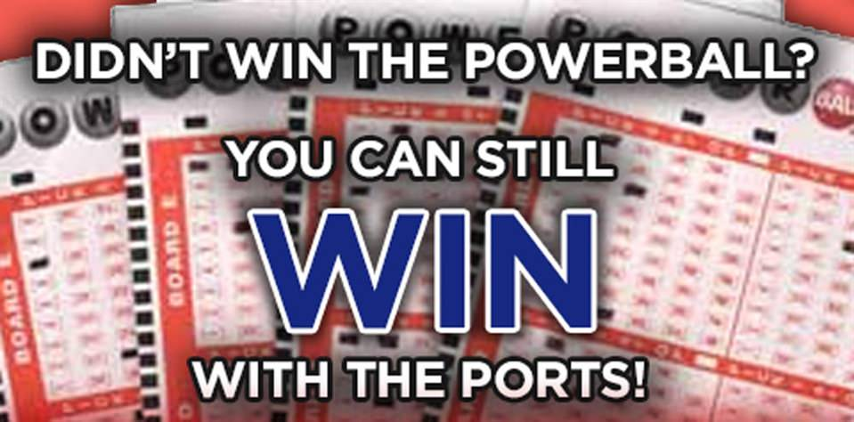 Ports to Award Powerball Losers Tickets to 2016 Games