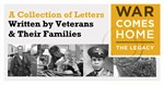 WAR COMES HOME: The Legacy Comes to Stockton-San Joaquin County Public Library