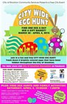City Wide Egg Hunts and Eggstravaganza