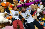 Annual Teddy Bear Toss Brought More Than Last Season